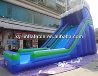 Sea wave inflatable used playground slides for sale