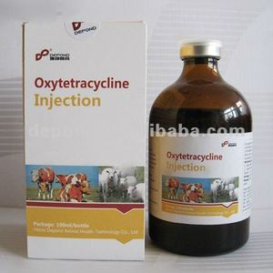 Oxytetracycline 10%. 20%, 30% injection 50ml, 100ml antibiotic medicine for cattle