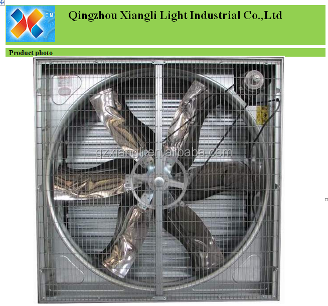 GREENHOUSE AND INDUSTRY 50 INCH CENTRIFUGAL FAN/VENTILATION FAN WITH HIGH AIR FLOW