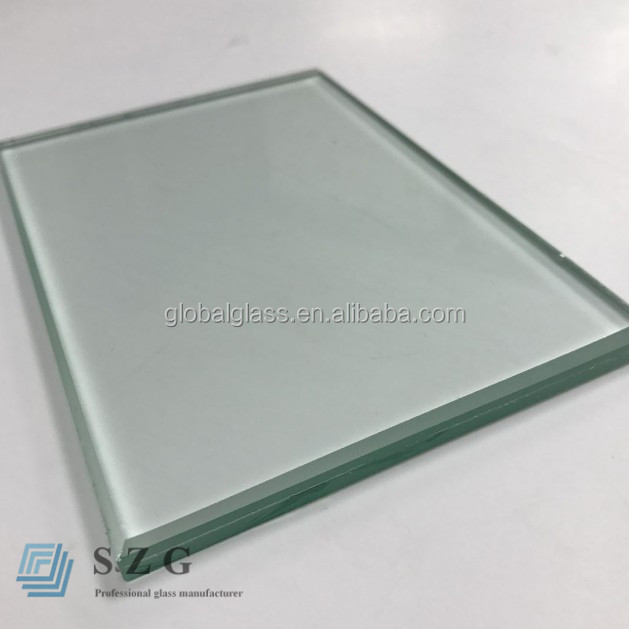 High quality standard jumbo size PVB 331 clear laminated glass 6 38mm
