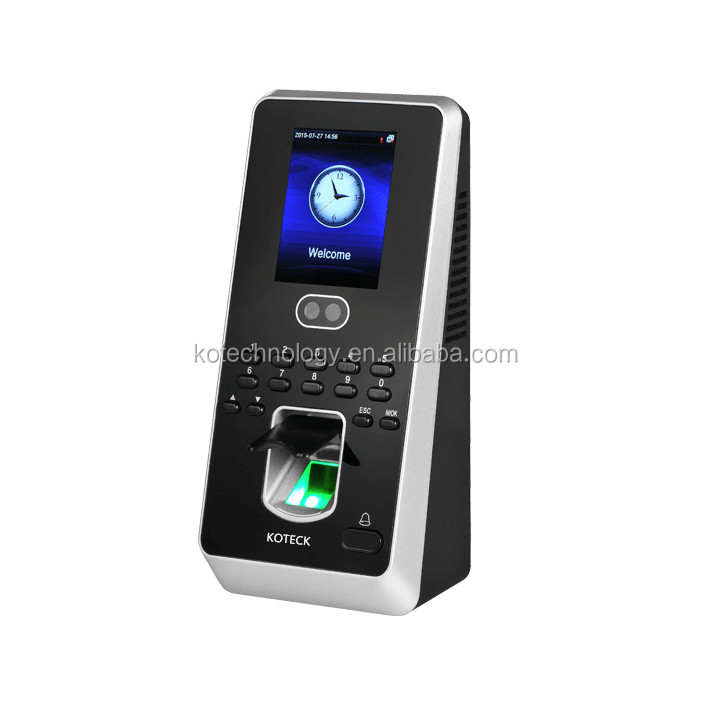 FR1200 FINGERPRINT SLAVE READER face80 face recognition time access control with time attendance TCP/IP