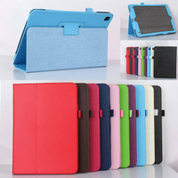 Flip Smart Litchi Grain PU Leather Holder Cover Case For iPad Pro 9.7
