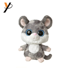 Wholesale stuffed animals grey mouse plush rat toy