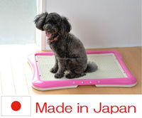 Easy to use and Fashionable modular kennel for dog pet diaper with multiple functions made in Japan