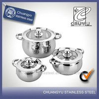 stainless steel gas cookware folding handle