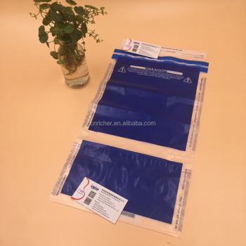 Safe Document LDPE Plastic Envelope Tamper Security Bag