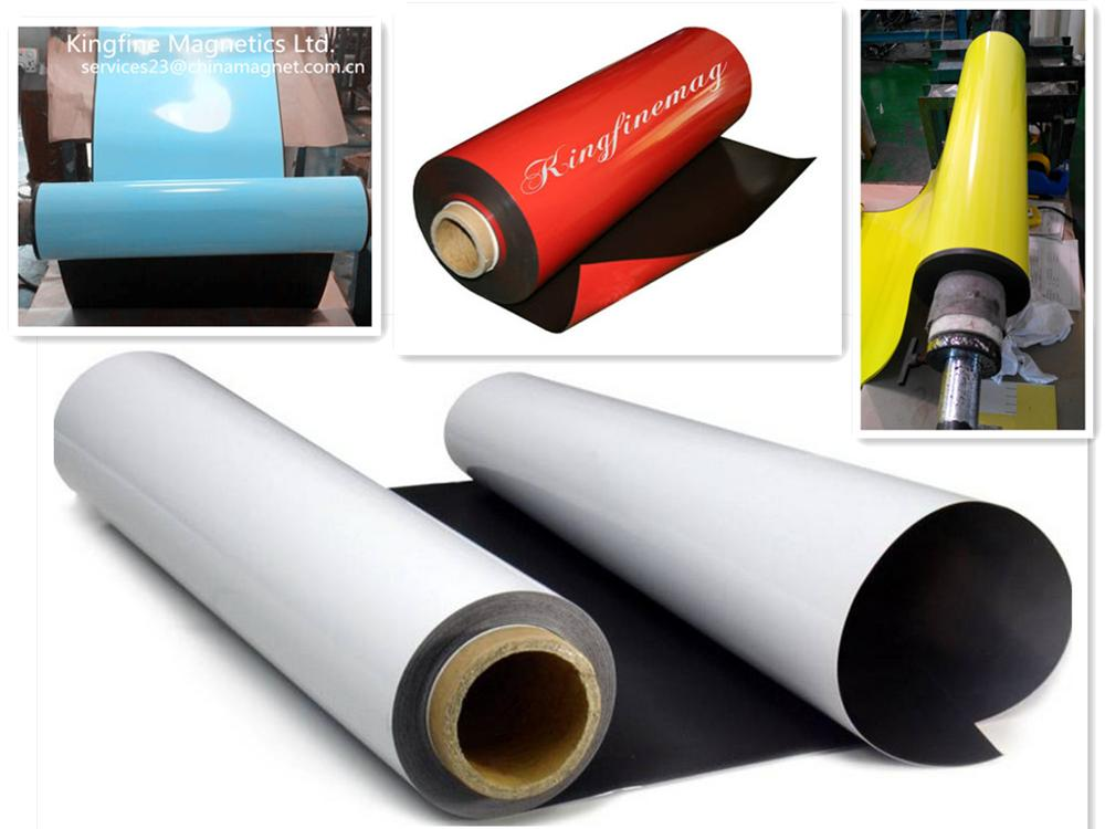 flexible magnet,rubber magnet,0.4 0.5mm,advertising pop glossy vinyl consumables,flexible rubber magnet,color vinyl