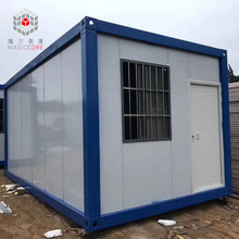 Custom cheap prefabricated living 20ft 40ft home container house malaysia prices low cost prefab flat pack container house
