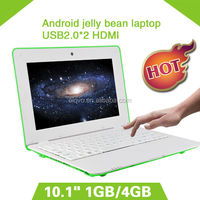 2014 new 10 inch mini android 4.1 laptop via8850 netbook computer