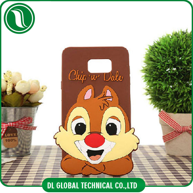 for Samsung Silicone phone case cartoon toy cell mobile phone case for iphone 4 5 6 6plus phone covers