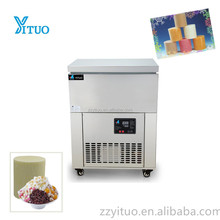 High capacity commercial 6 slots 2.2L snow ice block machine for sale
