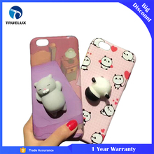 Squishy Factory Phone Case For iPhone 8 Kawaii Toy Silicone Material Shockproof