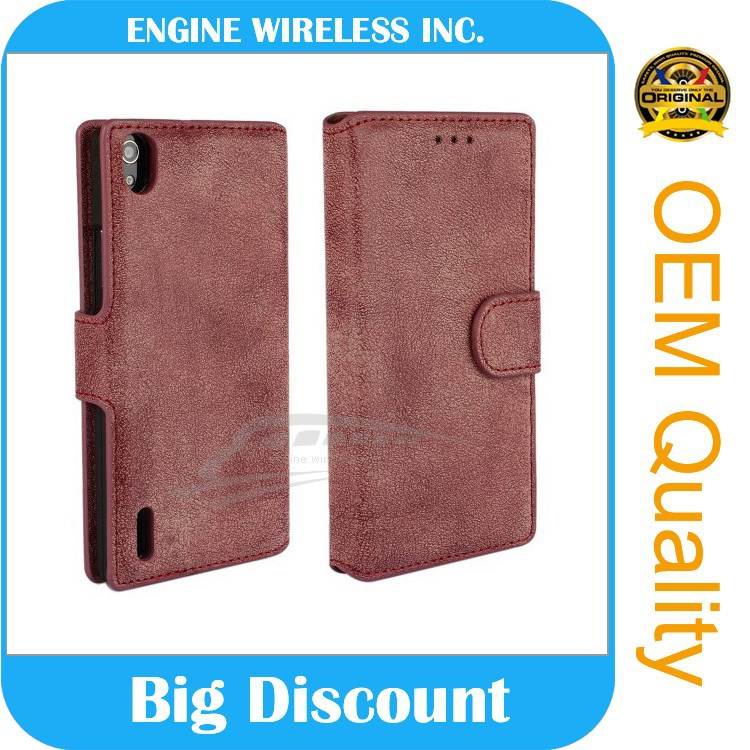 GuangZhou factory back cover phone case for huawei ascend p7 original