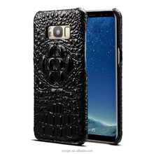 first layer cow leather Crocodile case for samsung s8,for samsung s8 first layer cow leather crocodile case