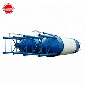 100 ton 150 ton cement steel silo for batch plant