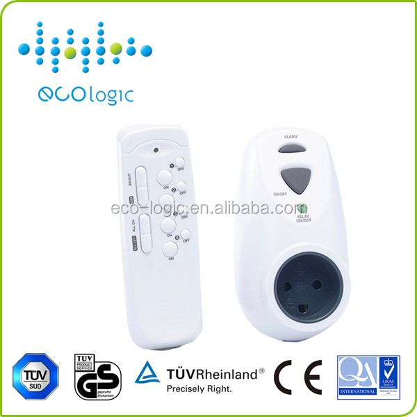 Electrical Wireless Professional wireless 4 channels remote control switch socket for home appliances