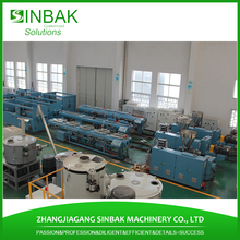 2inch dia pvc hose pipe machine water spray hose equipment making produce line with SJ75 extruder