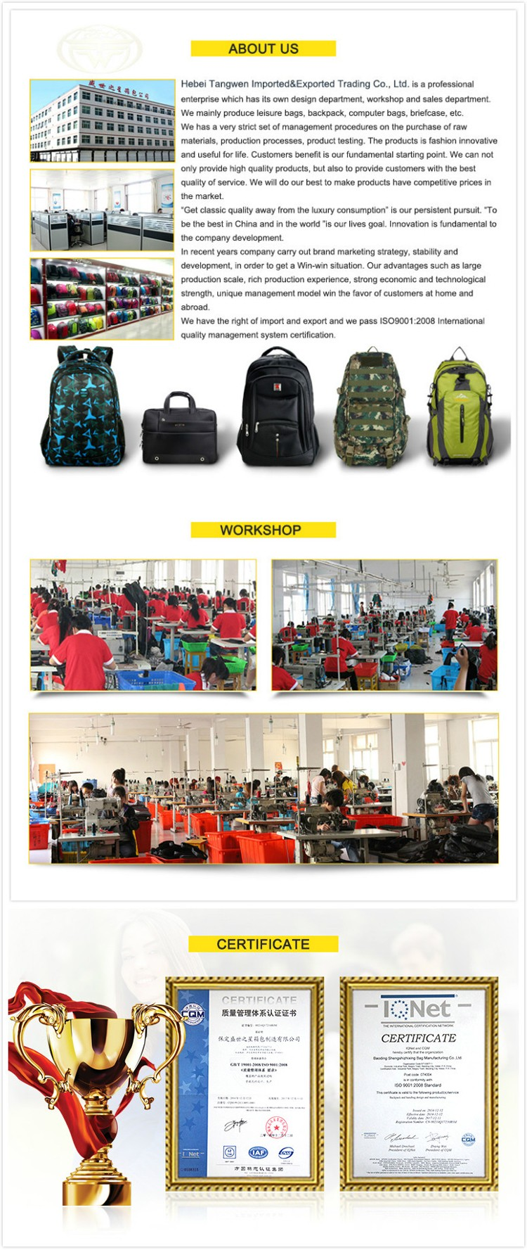 Hot Selling Cheap Sports Backpack Bag Lightweight Hiking Backpack