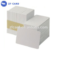 Manufacturing Plastic White Blank PVC ID Card Inkjet Card Size CR80
