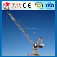Luffing jib used tower cranes for sale in dubai mini tower crane price