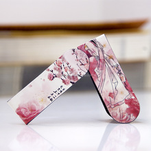 New product 2015 fashion beautiful magnetic bookmark clips/fancy bookmark/paper magnetic bookmark Manufacturer