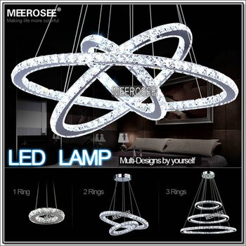 Fashion Design LED Pendant Light for Home 3 Circle Ring Pendant Lamp MD8825