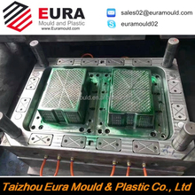 EURA OEM plastic beer bottle case/crate mould making