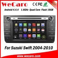Wecaro WC-SS7668 android 4.4.4 car radio for suzuki swift car dvd gps navigation system 2004 - 2010 3G wifi playstore