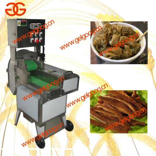 Tripe slicing machine / Cooked beef slicing machine / Frozen meat slicing machine