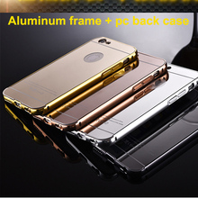 New acrylic mirror mobile phone case cover for iphone 5 5s 5c 6 6s mirror case