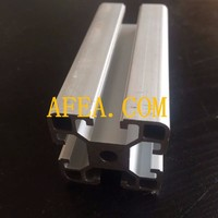 aluminum rectangular box section