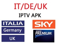 Italy UK Germany Channels IPTV Panel Sky Account APK Subscription Guarantee Support Android Box M3u KODI Enigma2 SmartTV IOS PC