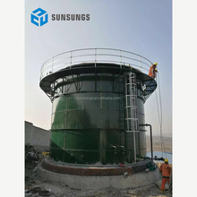 Animal farm/sewage treatment plant biogas container/biogas digester for sale