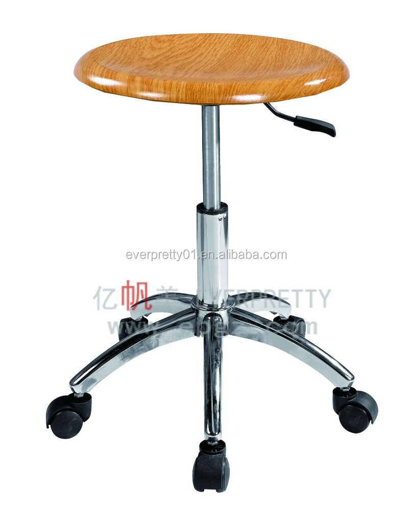 Wood Lab Stool for Laboratory Room