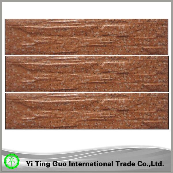 Ceramic Wall Cladding : Wood ceramic composite exterior wall cladding