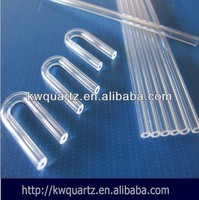 clear heat-resistant quartz glass tube from donghai kaiwang lianyungang jiangsu china