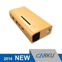 2015 best selling products Carku car accessory mini emergency 12v jump starter with power bank