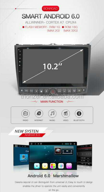 Android 6.0 10.2 inch LEXUS IS250 IS300 IS350 Car Radio (2005-2011)