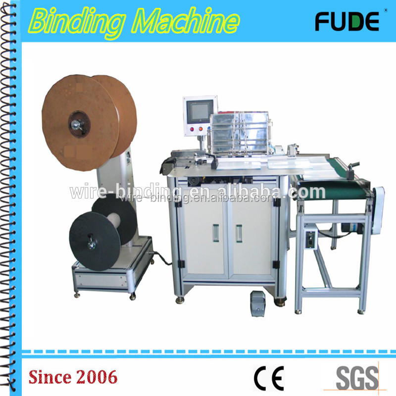 Hot selling industrial punching and binding machine with CE certificate