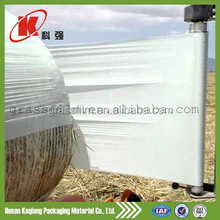 Blow modling LLDPE silage wrap/forage stretch film/fodder bale wrapping