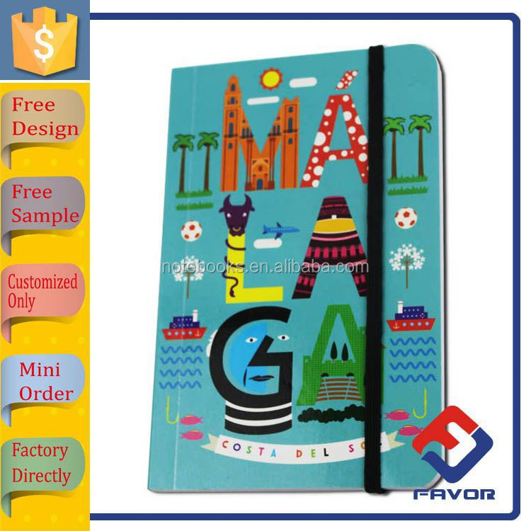 Factory directly 16x21cm school note book exercise book for students