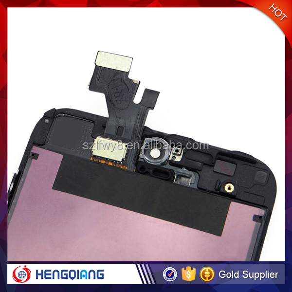 Wholesale Price LCD with Digitizer Assembly For iPhone 5, LCD Repair Parts For iPhone 5, LCD Assembly For iPhone 5