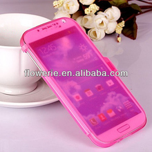 FL2918 2013 Guangzhou hot selling tpu side open case for samsung galaxy s4 i9500