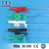 Global hospital supply surgery instrument all kinds of disposable transparent suction catheter