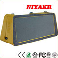 Niyakr Outdoor Usage And Full Color Led Taxi Roof Light Taxi Top Advertising Light Taxi Billboard Light