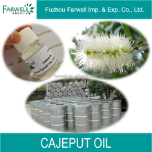 Farwell 100% pure natural Cajuput Oil, Kosher Certificate