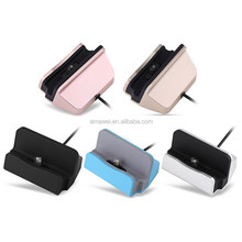 Best Quality Universal Micro USB Mobile Phone Charge Sync Docking Station For Samsung