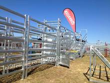 Wholesale USA galvanised portable cattle yards panels