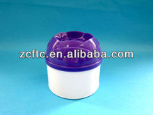 Air fresher solide can, flower form bottle for gel air frsher