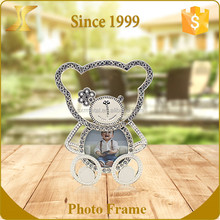 Cute Baby 2.5x2.5 picture frame Lovely Small crystal metal photo frame